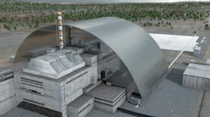 sarcophage réacteur 4 tchernobyl